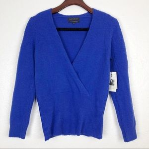 Something Navy Surplice Sweater XS S